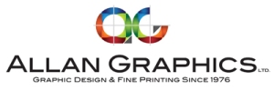 Allan Graphics, Kingston, Ontario, Logo